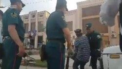 В Самарканде инспектор БДД подрался с пожилым водителем