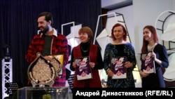 Лауреати літературного конкурсу «Кримський інжир» у Києві, 13 грудня 2019 року