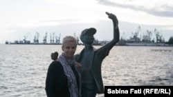 Moldova Service Correspondent Sabina Fati in Berdyansk, Ukraine for her travel blog.