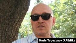 Opposition leader Vladimir Kozlov was pelted with eggs