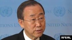 بان کی - مون، دبیرکل سازمان ملل متحد