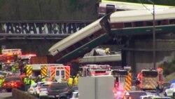 В США сошел с рельсов пассажирский поезд, есть погибшие