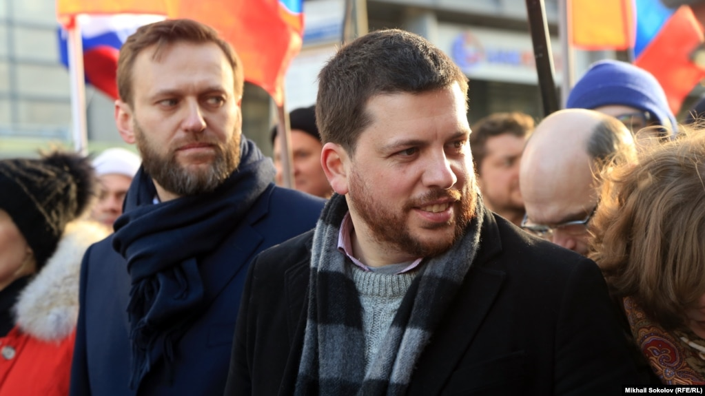 Картинки по запросу «начальник штаба» Алексея Навального Леонид Волков