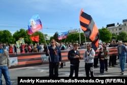 9 травня 2014 року, Луганськ