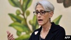خانم شرمن میگوید قاسم سلیمانی در فهرست ضدتروریستی تحریمهای آمریکا باقی میماند