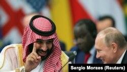 Mohammed bin Salman və Vladimir Putin