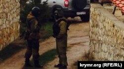 Обшук у будинку заарештованого Ахтема Чийгоза в Бахчисараї, 30 січня 2015 року