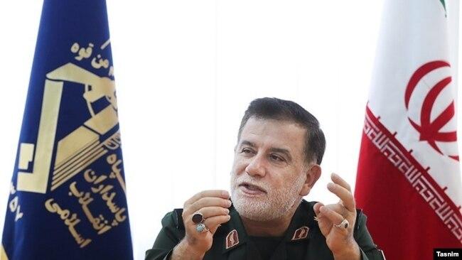 Operational commander of Iran's Revolutionary Guards, Abbas Nilforushan. Undated