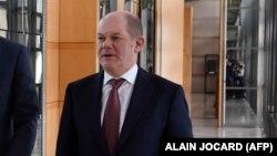 Германскиот министер за финансии Олаф Шолц