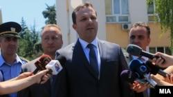 Macedonian Interior Minister Oliver Spasovski