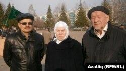 Рәфис Кашапов, Фәүзия Бәйрәмова, Айдар Хәлим