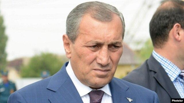 Armenia - Suren Khachatrian at a public event in Yerevan, 19Aug2014.