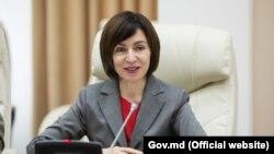 Prim-ministrul Maia Sandu, 8 iulie, 2019