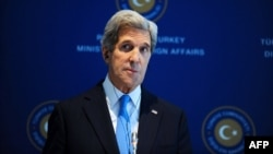 """This choice really lies in the hands of the Iranians,"" Kerry said in Istanbul."