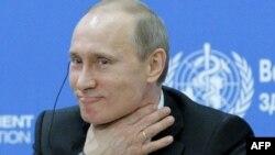 Vladimir Putin la prima conferință globală asupra stilului de viață sănătos şi a controlului bolilor netransmisibile, Moscova, 18 aprilie 2011