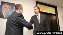 Ivica Dačić i Aleksandar Vučić