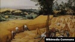 Пітэр Брэйгель Старэйшы, «Жніво» (1565)