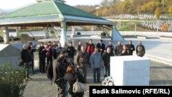 Ratni veterani iz Srbije odali počast žrtvama genocida u Srebrenici