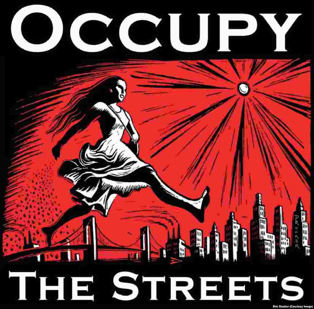 A 2011 poster for the Occupy movement against social and economic inequality