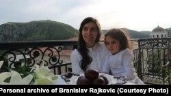 Supruga i kćerka Branislava Rajkovića