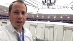 Inside The Stadium At The NATO Summit