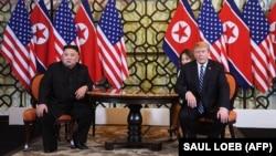Ким Чен Ын һәм Дональд Трамп