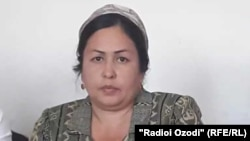 Matchmaker Dilafruz Mahmadalieva is the deputy chairwoman of the Bohtar District's Department of Ideology.