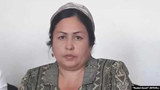 Matchmaker Dilafruz Mahmadalieva is the deputy chairwoman of the Bohtar District's Department of Ideology.
