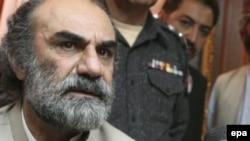 کوټه: د بلوچستان اعلا وزیر نواب اسلم رییساني. دا د ۲۰۰۹ز کال انځور دی.