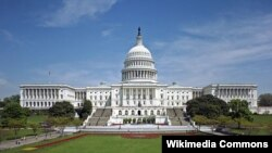 ساختمان محل برگزاری نشستهای کنگره آمریکا.