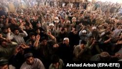 د تحریک لبیک پاکستان مظاهره (انځور له ارشیفه)