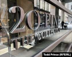20 Pine, just steps from the New York Stock Exchange, reflects a murkier facet of New York City's real estate industry: inflows of cash from the former Soviet Union.