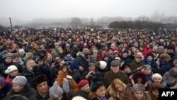 Акция протеста против передачи Исаакиевского собора РПЦ