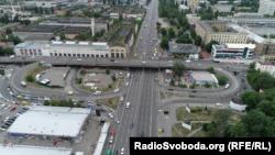 Шулявський міст у Києві, червень 2016 року
