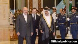 Лукашэнка ў Арабскіх Эміратах