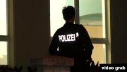 Сотрудник германской полиции