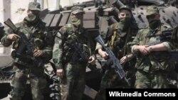 Ռուսական զինծառայողները Ցխինվալիում, արխիվ