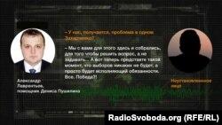 Аудиозапись разговора, сделанная в июне в одном из ресторанов турецкого города Анталия, утверждают в СБУ
