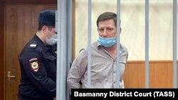 Сергей Фургал на слушаниях в Басманном суде Москвы