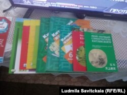 Тасины учебники, купленные на подаренные деньги