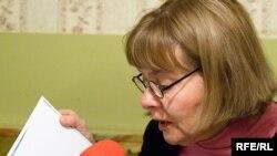 Поэт Татьяна Щербина - один из активных участников дискуссии