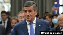 Қырғызстанның бұрынғы президенті Сооронбай Жээнбеков.