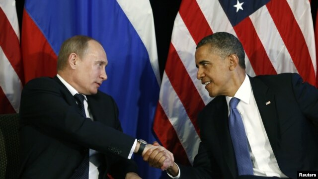 U.S. President Barack Obama in June with his Russian counterpart Vladimir Putin at the G20 summit in Mexico.