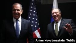 Держсекретар США Майк Помпео і міністр закордонних справ Росії Сергій Лавров 6 травня провели переговори у Фінляндії