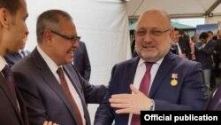 Умаров в египетском посольстве