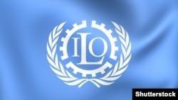 Логотип Международной организации труда (МОТ).