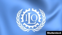 International Labour Organisation (ILO) flag - image from Shutterstock