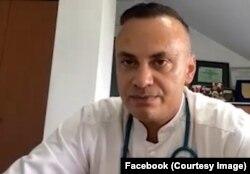 """Medicul infecționist Adrian Marinescu, de la Institutul """"Matei Balș"""""""