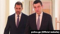 Christophe Castaner və Giorgi Gakharia