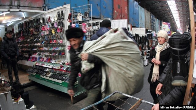 According to the author, a Kyrgyz bazaar is a well organized economic territory where no form of anarchy is possible.
